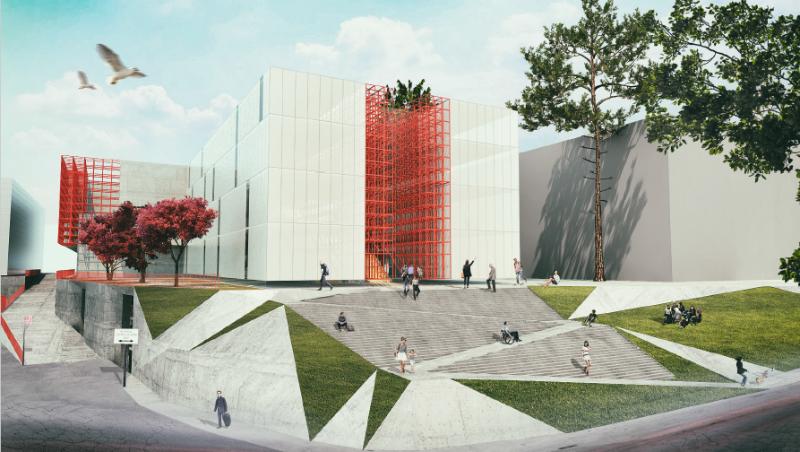 """პირველი არხის ახალი შენობის არქიტექტურული დიზაინის შესარჩევ კონკურსში """"თბილქალაქპროექტის"""" პროექტმა გაიმარჯვა"""
