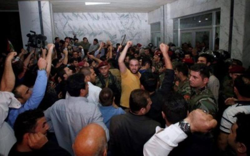 Парламент Иракского Курдистана штурмовали вооруженные демонстранты