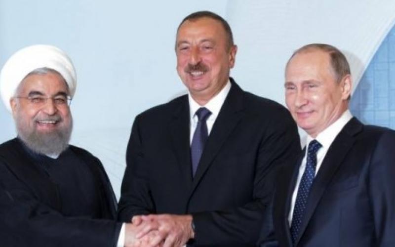 Владимир Путин встретится с Ильхамом Алиевым и Хасаном Роухани 1 ноября в Тегеране