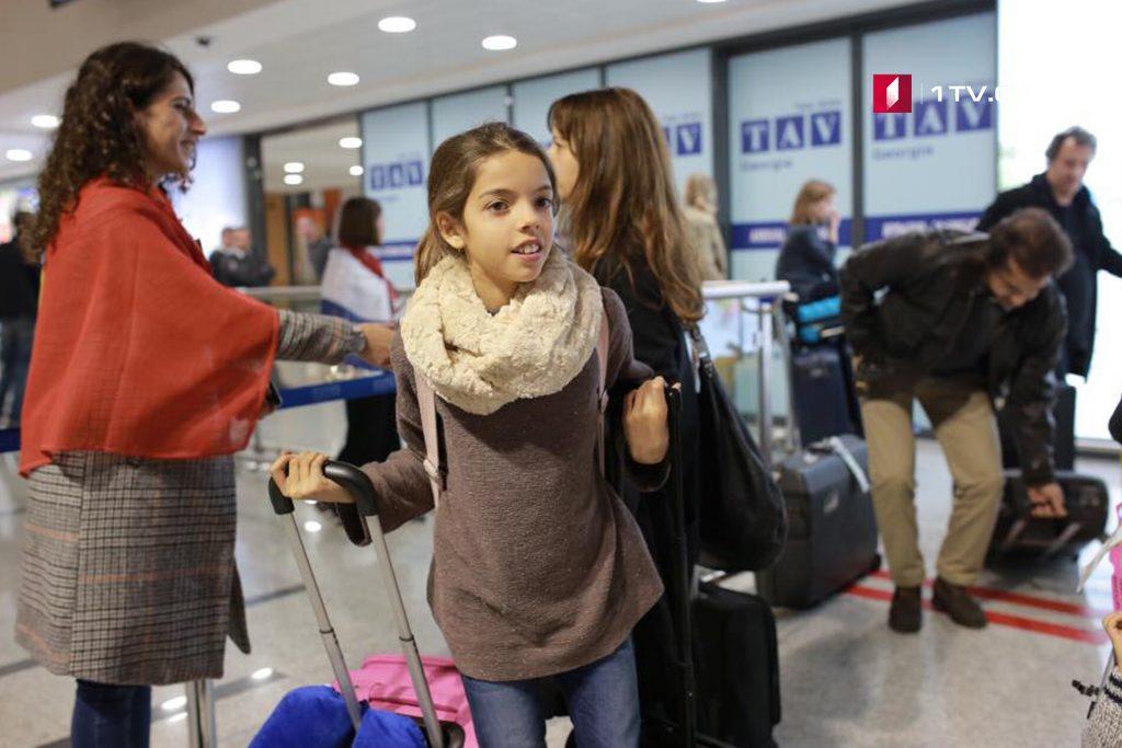 თბილისში საბავშვო ევროვიზიის მონაწილეთა დელეგაციები პორტუგალიიდანდა ნიდერლანდებიდან დღეს ჩამოვიდნენ