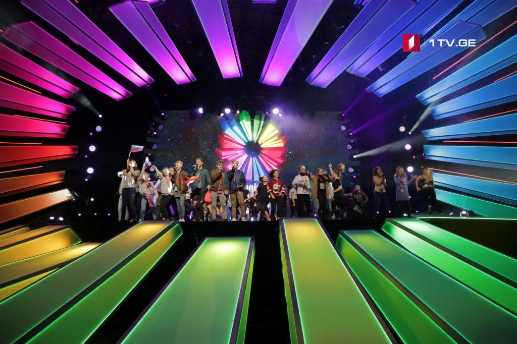 EBU - თბილისში გამართული საბავშვო ევროვიზიის ფინალი 2,6 მილიონმა მაყურებელმა ნახა