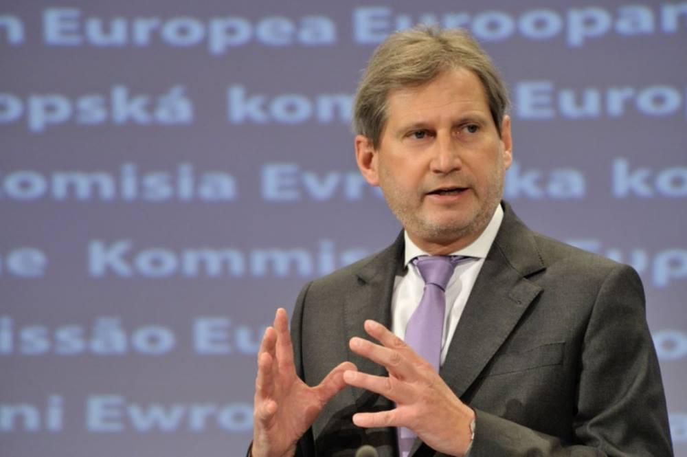 Йоханнес Хан – Евросоюз явяляется крупнейшим торговым партнером Грузии и как видно, в 2017 году это партнерство еще более услилилось