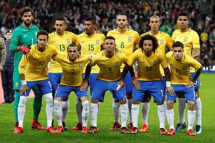 ԱԱ 2018 ամենաթանկարժեք ֆուտբոլիստներով կոմպլեքտավորված հավաքականն է Բրազիլիան. Transfermarkt