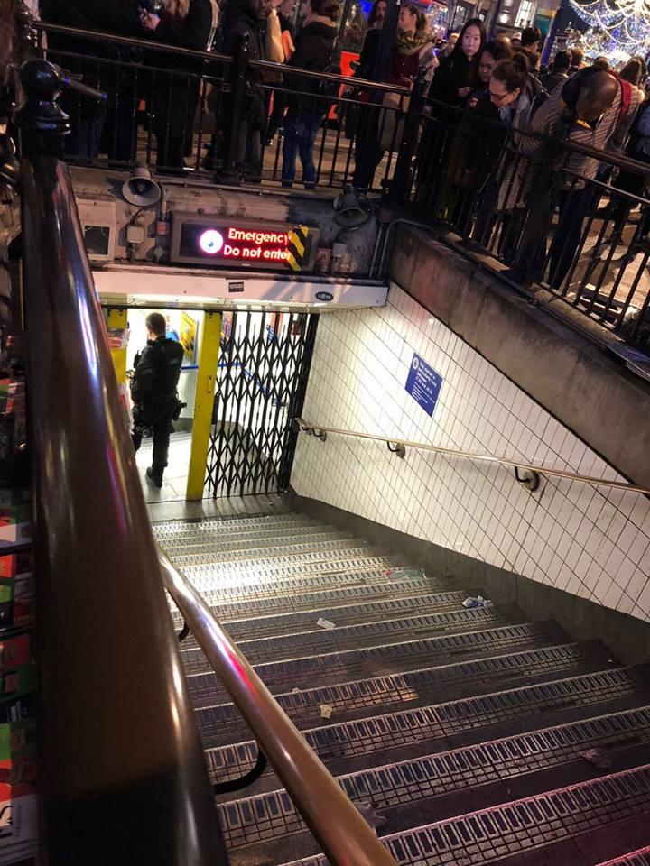 ლონდონის ერთ-ერთ მეტროში პანიკაა - მიმდინარეობს ევაკუაცია