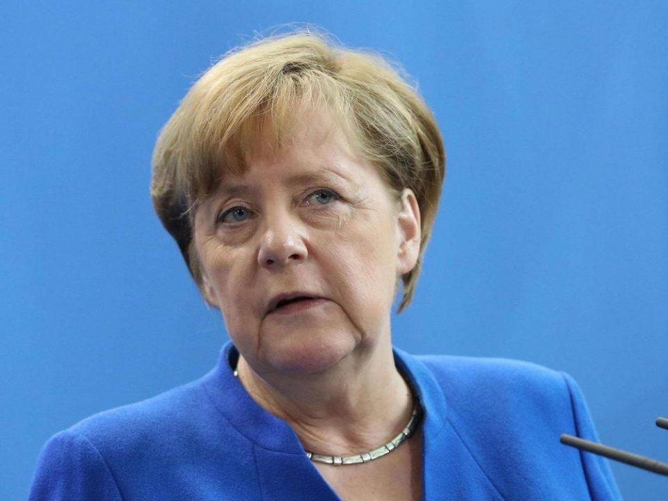 ანგელა მერკელი - გერმანია მხარს უჭერს აშშ-ს, საფრანგეთსა და ბრიტანეთს, რომლებმაც სირიაში სამიზნეებზე დარტყმები განახორციელეს