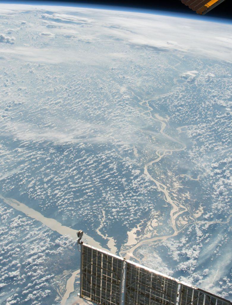 NASA-ს დღის ფოტო - მდინარე ამაზონი კოსმოსიდან