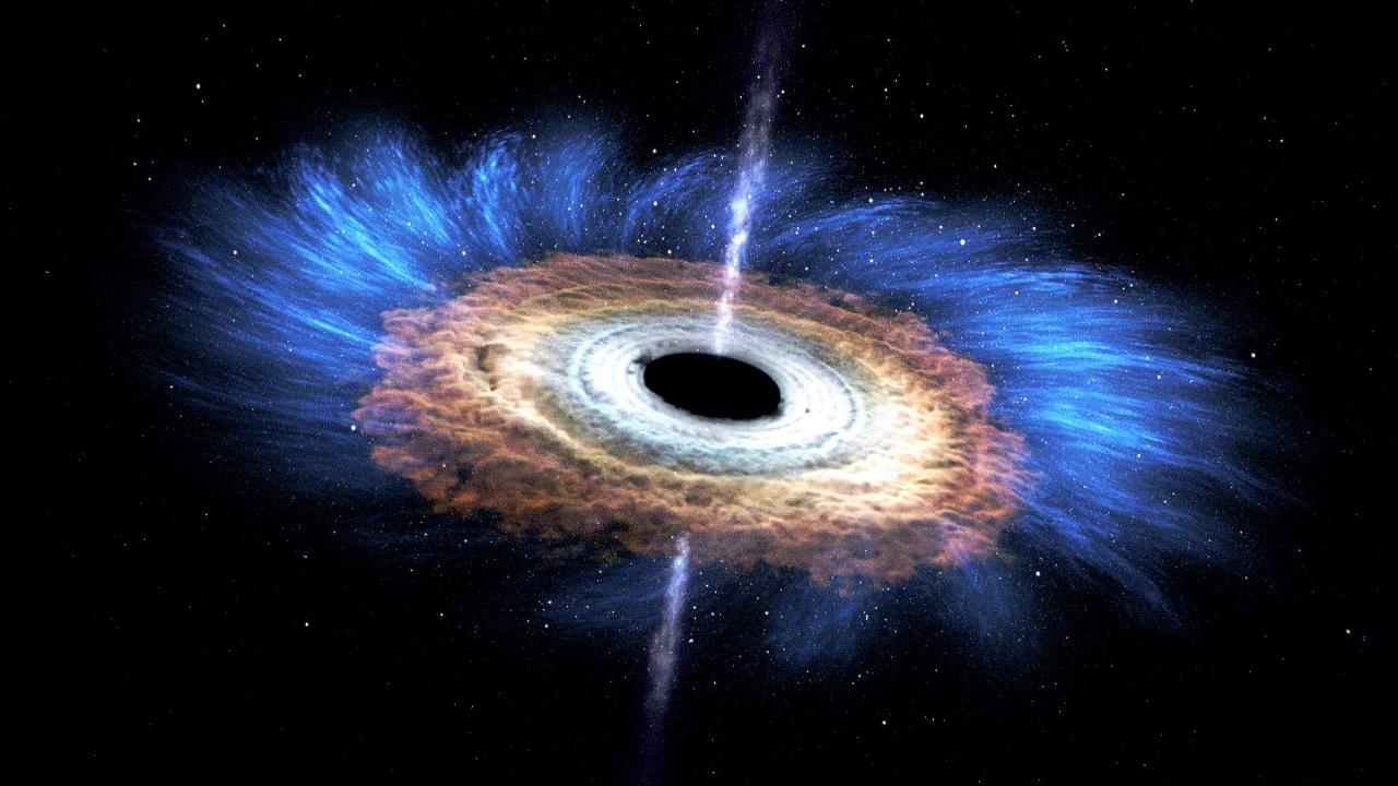 NASA-ს დღის ფოტო - შავ ხვრელთან ზედმეტად ახლოს მისული ვარსკვლავი