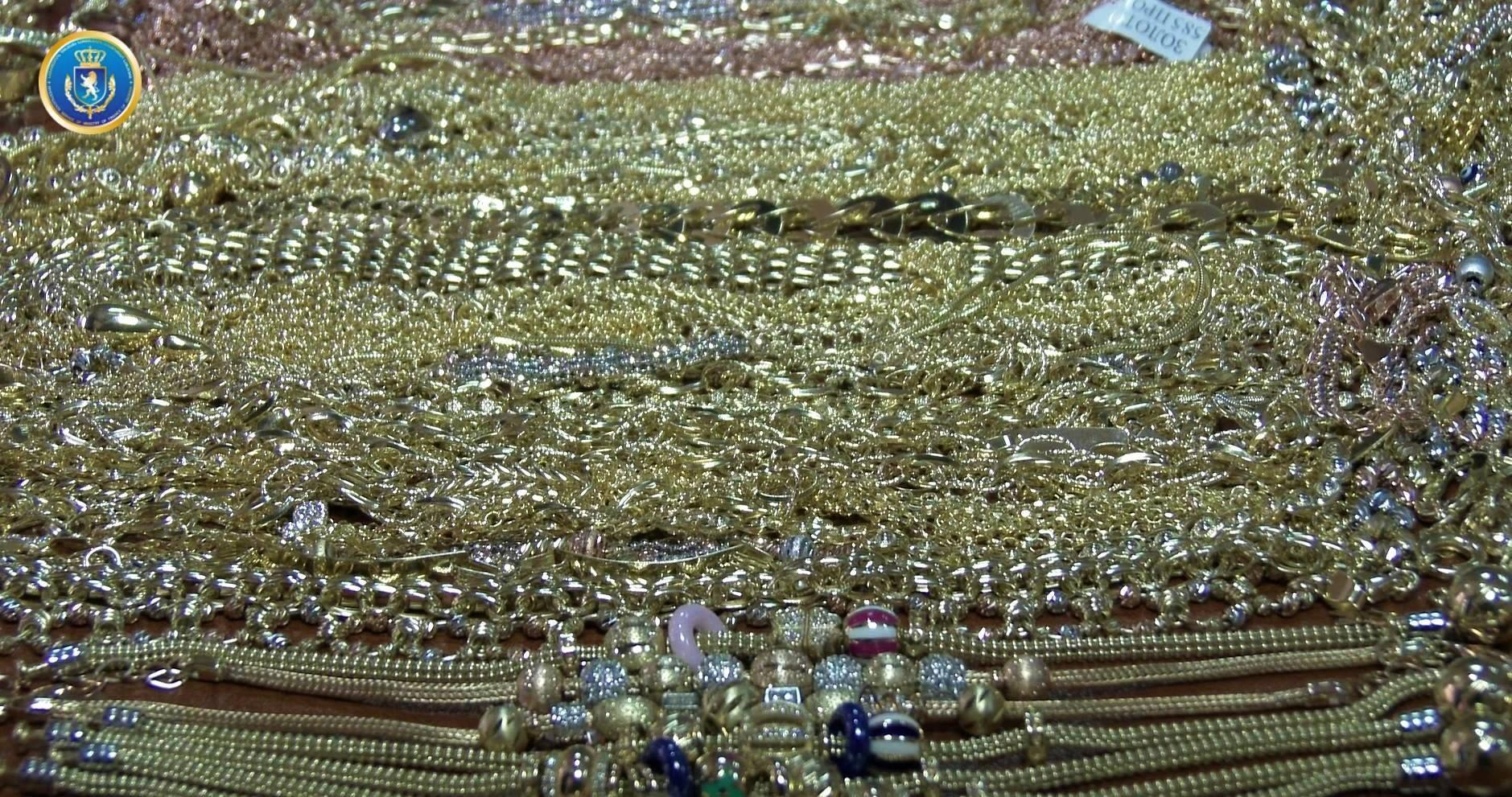 საგამოძიებო სამსახურმა განსაკუთრებით დიდი ოდენობით ოქროს კონტრაბანდული გზით გადაზიდვის ფაქტი გამოავლინა