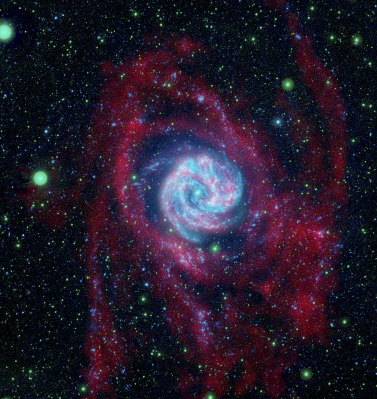 სპირალურ გალაქტიკათა კიდეებზე, სავარაუდოდ, უამრავი შავი ხვრელი იმალება