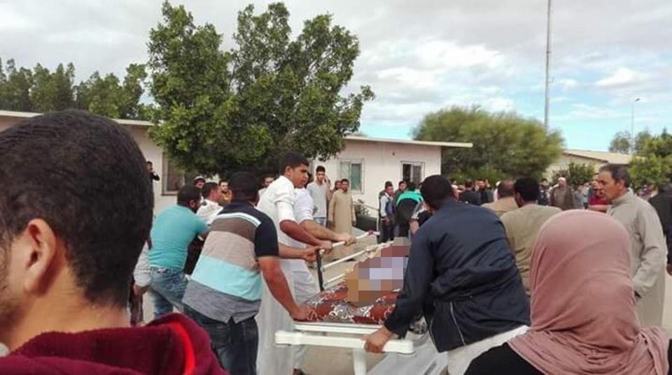 ეგვიპტეში, სინაის ნახევარკუნძულზე აფეთქებისას სულ მცირე 54 ადამიანი დაიღუპა