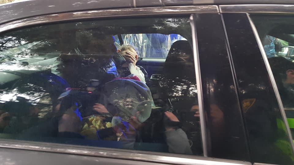 სპეცოპერაციის ზონიდან საპატრულო პოლიციამ კიდევ ერთი ოჯახი გაიყვანა