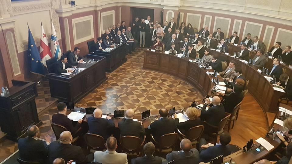 «Եվրոպական Վրաստան» կուսակցությունը չի մասնակցելու սակրեբուլոյի կոմիտետային լսումներին