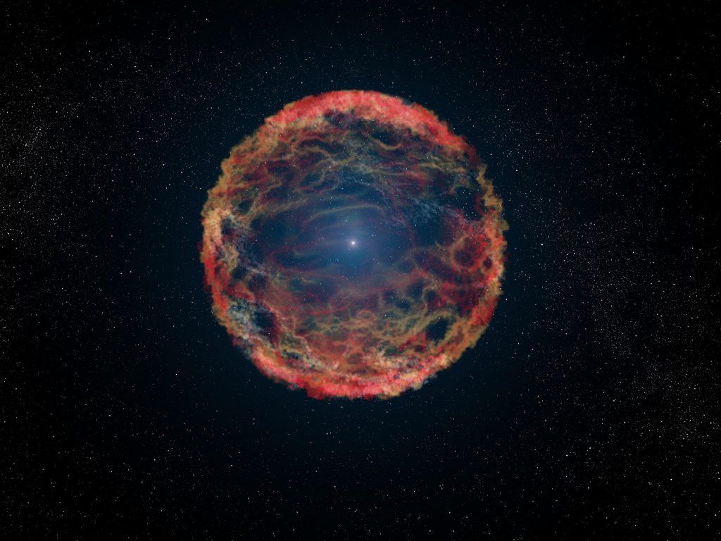 ვარსკვლავი, რომელიც აფეთქდა, მაგრამ გადარჩა და 60 წლის შემდეგ ისევ აფეთქდა - საოცარი აღმოჩენა