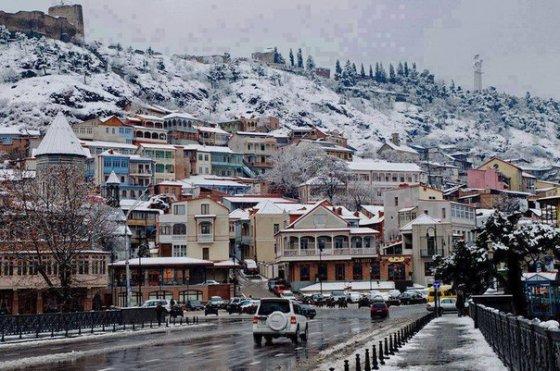 თბილისში ამაღამ მოთოვს
