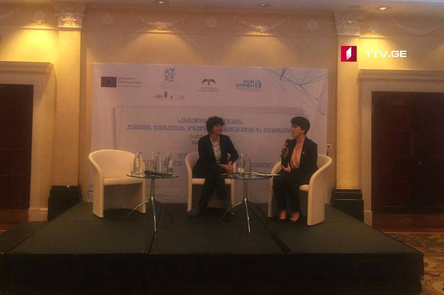 """საერთაშორისო კონფერენციის ფარგლებში, """"მოამბის"""" ჟურნალისტის, ვიკა ბუკიას საავტორო ტელებლოგი """"ურჩი ქალები"""" იყო წარმოდგენილი"""