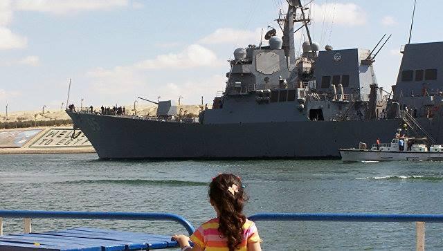 შავ ზღვაში აშშ-ის სამხედრო-საზღვაო ძალების სარაკეტო ხომალდი შემოვიდა