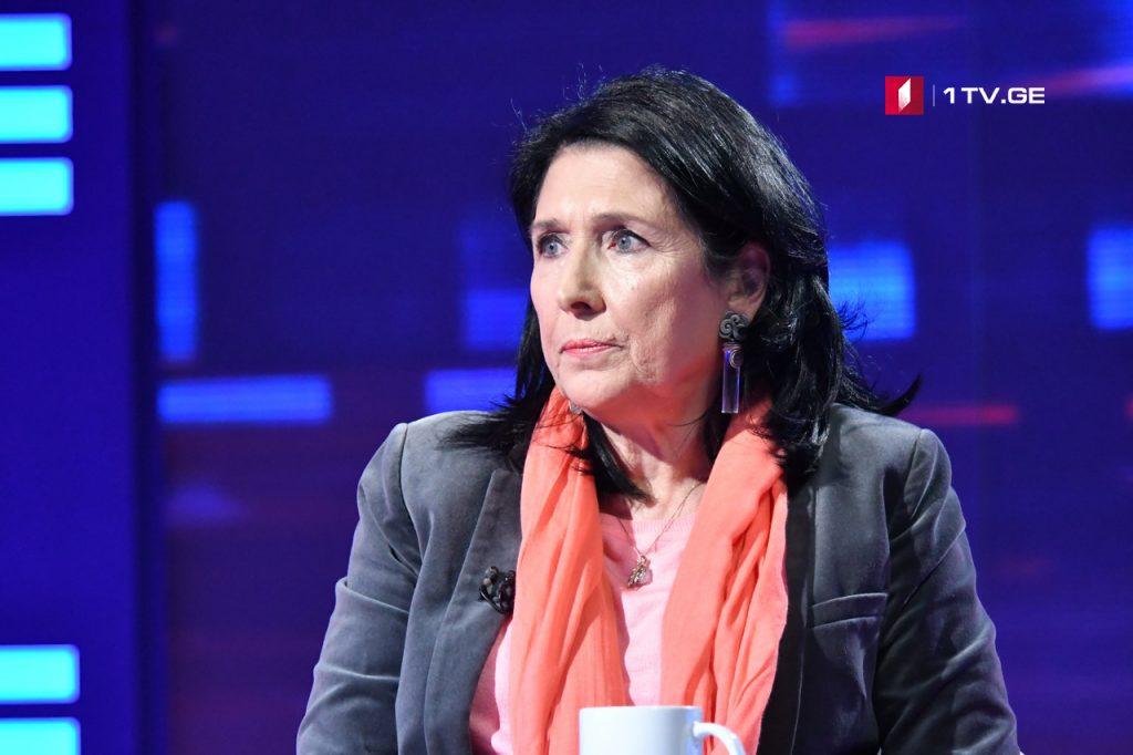 Саломе Зурабишвили – Культивация марихуаны это тот вопрос, по которому мы должны выслушать патриархию