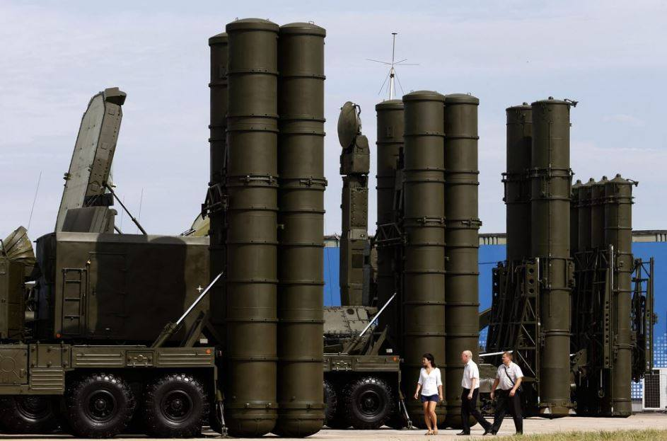 Turkey purchased four S-400 air defense systems from Russia