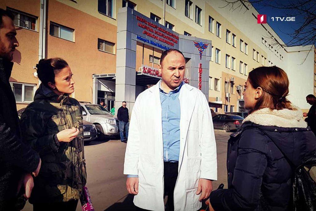 Բժշկի հավաստմամբ, Թեմիրլան Մաչալիկաշվիլու բուժման համար կլինիկան պատրաստ է ընդունել արտասահմանյան բժիշկների