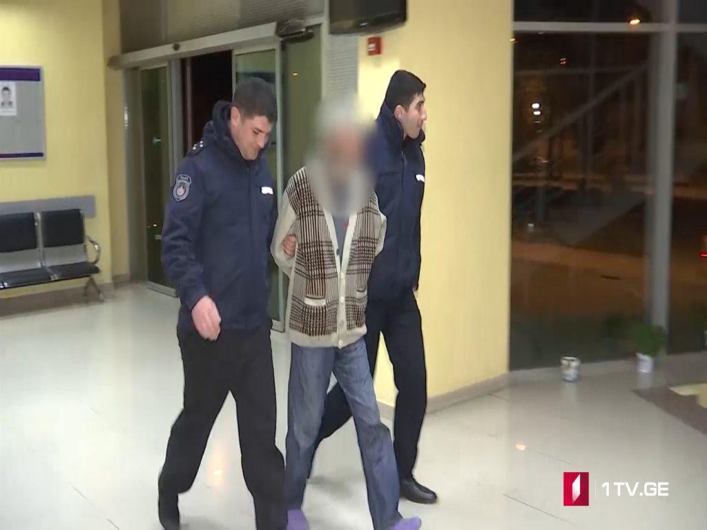 Мужчина задержан в Кахети по обвинению в домашнем насилии