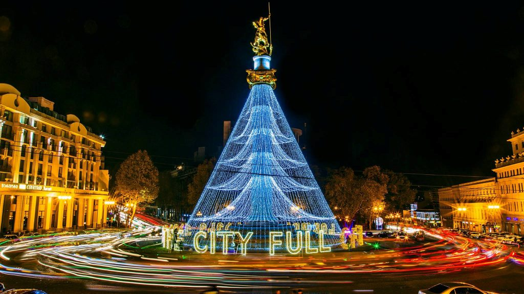Tbilisi Mayor responded to opponents regarding New Year Tree installed at Tbilisi main square