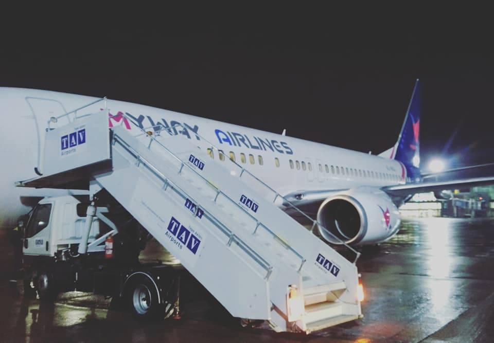 Из Китая в Грузию импортированы два самолета  Boeing 737-8AL