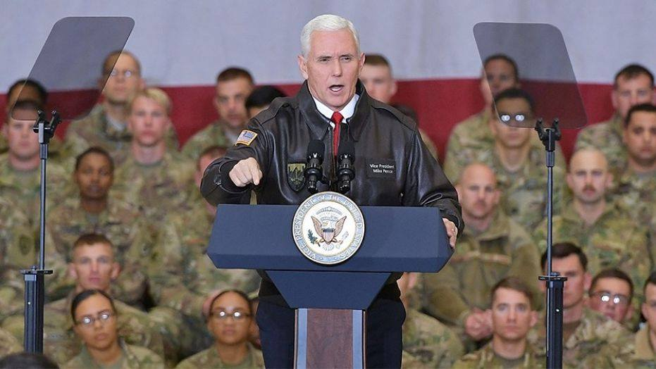 მაიკ პენსი-ამერიკელი სამხედროები ავღანეთში მანამდე დარჩებიან, ვიდრე ტერორიზმის საფრთხე ბოლომდე არ აღმოიფხვრება