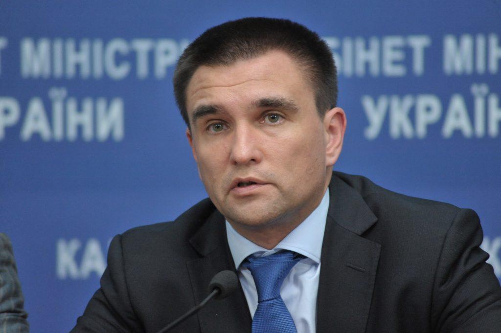 Pavel Klimkin - Saakaşvilinin həbs edilməsini Qərb, Ukraynanın daxili işi olaraq görür