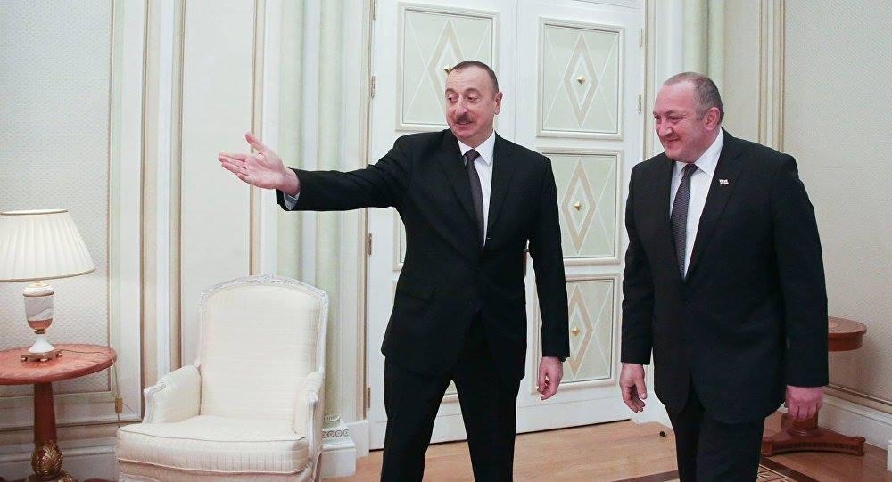 Георгий Маргвелашвили поздравил Ильхама Алиева с днем рождения
