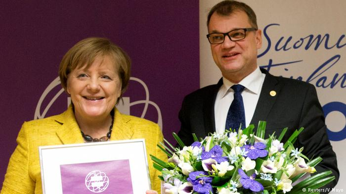 ანეგელა მერკელს გენდერული თანასწორობის საერთაშორისო ჯილდო გადაეცა