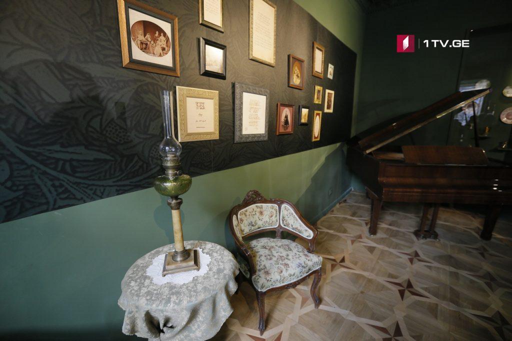 თბილისში ნიკოლოზ ბარათაშვილის განახლებული სახლ-მუზეუმი გაიხსნა