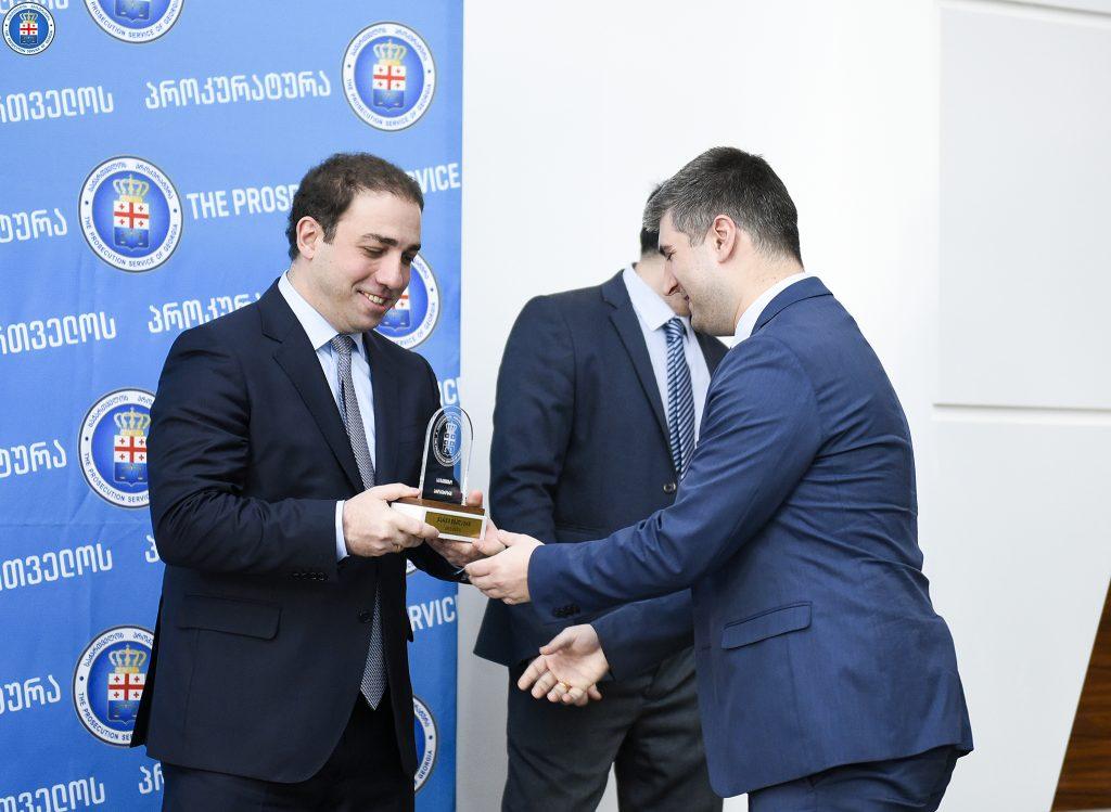 Главный прокурор наградил успешных работников 2017 года