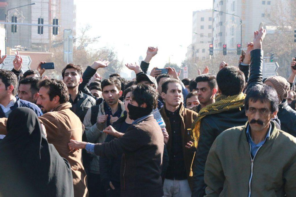 ირანში საპროტესტო აქციის დარბევას აშშ აკრიტიკებს
