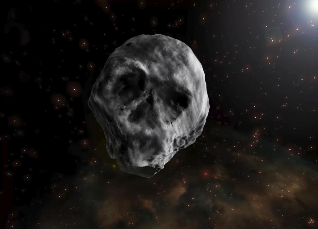 დედამიწას თავის ქალის ფორმის ასტეროიდი უახლოვდება
