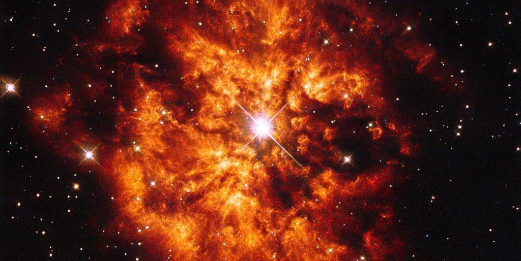 მზის სისტემა შეიძლება გიგანტური, ძალიან ცხელი ვარსკვლავის ბუშტის შიგნით დაიბადა