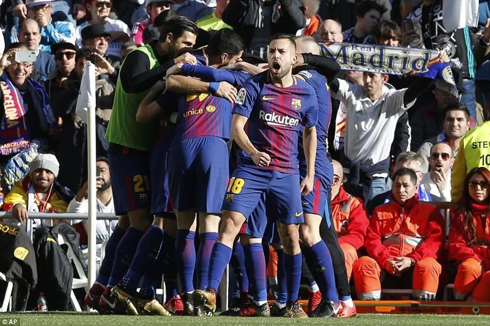 Barselona Superklasikoda böyük hesabla qələbə qazandı