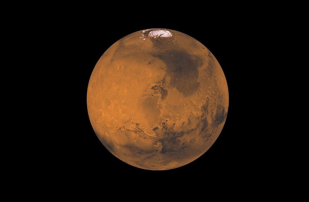 მარსის ზედაპირქვეშ აღმოჩენილია წყლის ყინულის სქელი ფენები