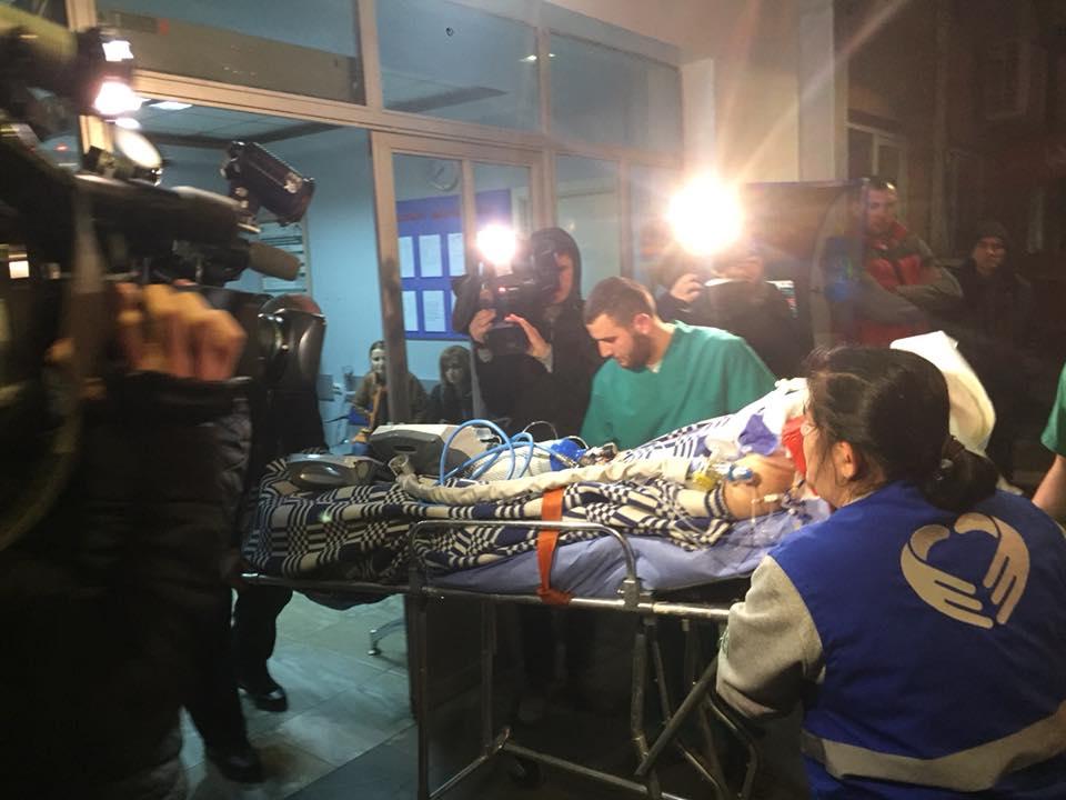 Темирлана Мачаликашвили доставили в клинику святого Михаила в Тбилиси