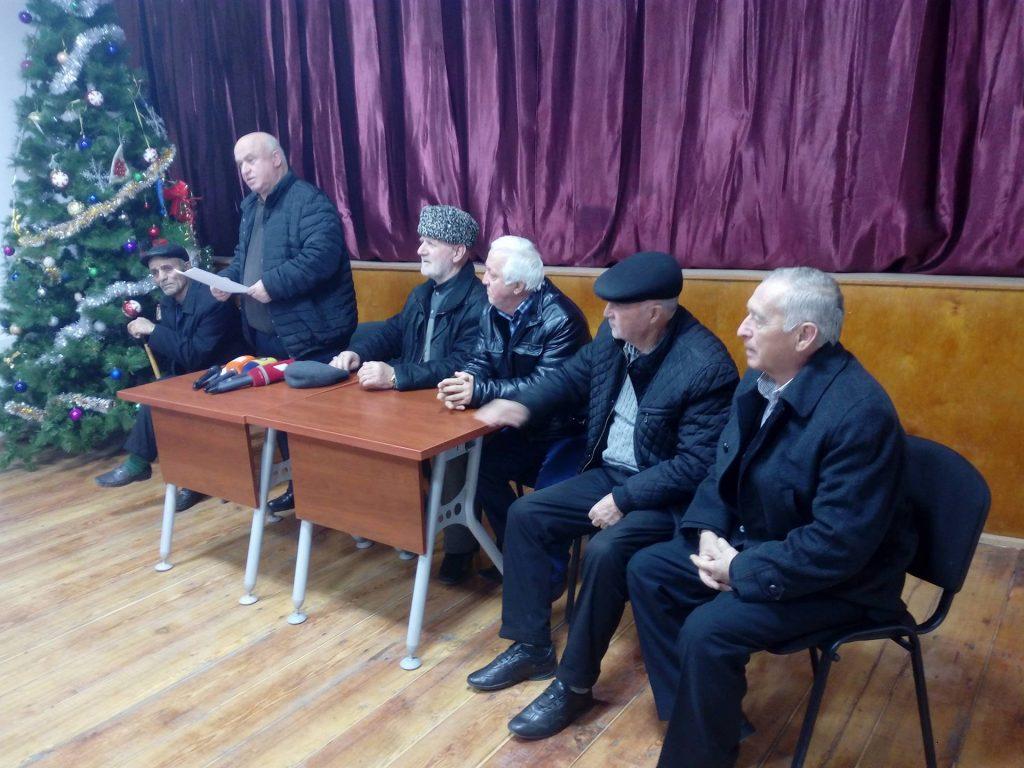 Совет старейшин Панкиси разработал текст обращения к правительству