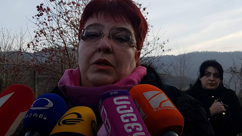 Майя Николеишвили – В спальне Темирлана Мачаликашвили сохранена возможность определения траектории выстрела