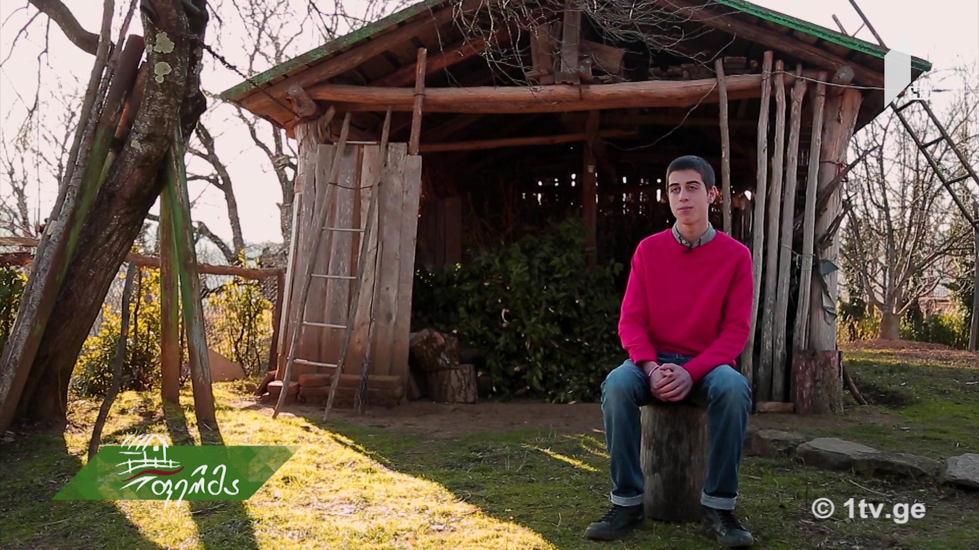 #არტიშოკი 15 წლის ქრისტეფორე დარჩაშვილი, სოფელზე შეყვარებული ქალაქელი ბიჭის ამბავი #ფერმაში