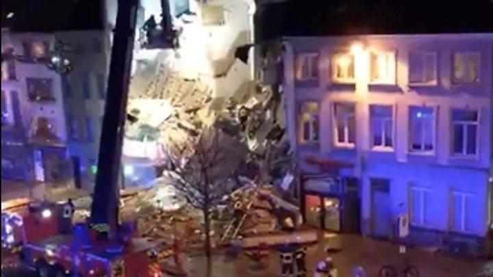 Взрыв газа в Антверпене: найдены тела двух погибших