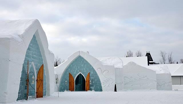 კანადაში ყინულის სასტუმროში ხანძარი გაჩნდა