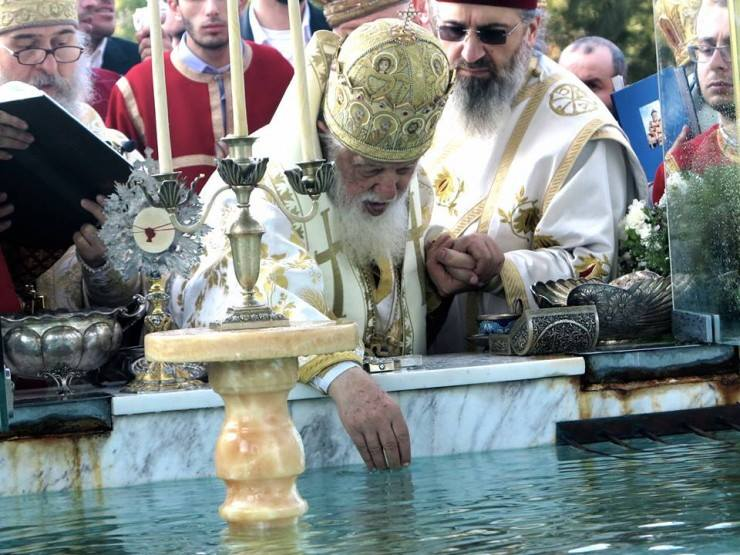 მართლმადიდებელი ეკლესია დღეს ნათლისღების დღესასწაულს აღნიშნავს