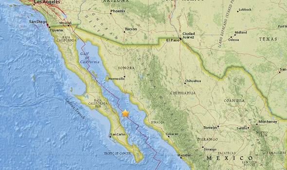Gulf Of California Map.6 3 Magnitude Earthquake Shakes Mexico S Gulf Of California 1tv