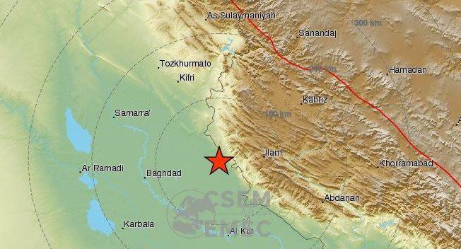ირანში 4,9 მაგნიტუდის მიწისძვრა მოხდა