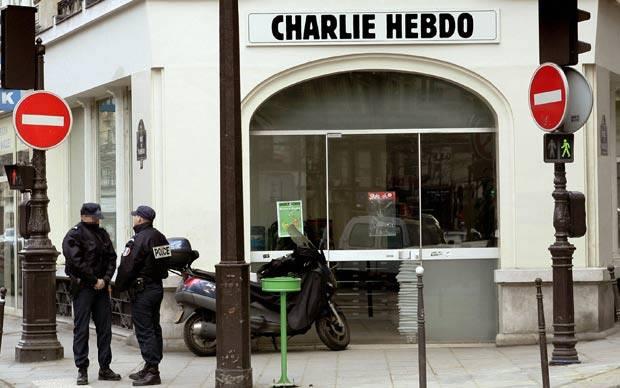 საფრანგეთში Charlie Hebdo-ს რედაქციაზე თავდასხმასთან დაკავშირებით ოთხი ადამიანი დააკავეს