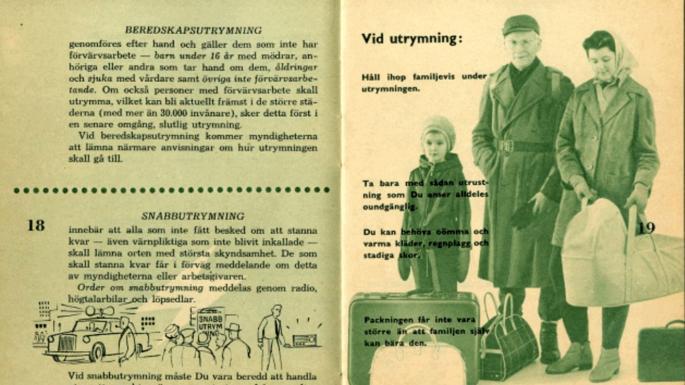 The Times - შვედეთის მოსახლეობას დაურიგდება ბუკლეტები,როგორ უნდა იმოქმედონ ომის შემთხვევაში