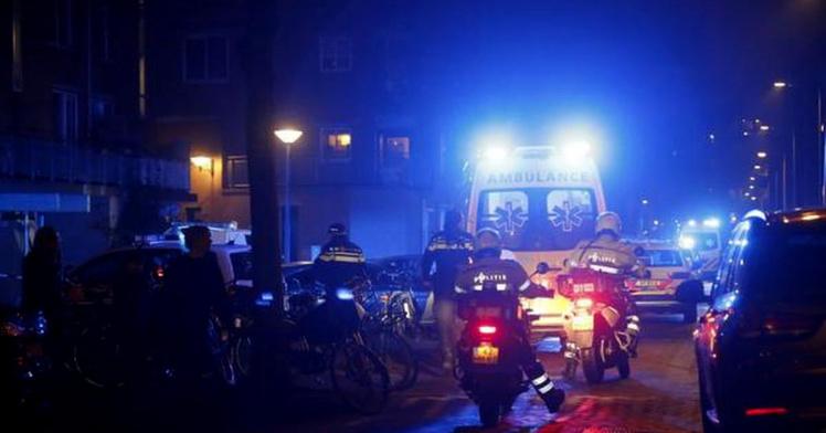 В центре Амстердама произошла стрельба