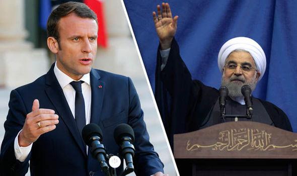 საფრანგეთისა და ირანის პრეზიდენტებს შორის სატელეფონო საუბარი შედგა